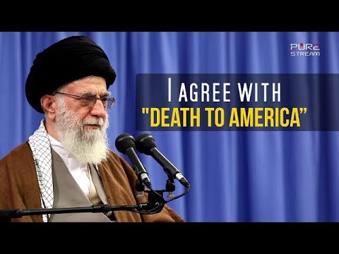 "I agree with ""DEATH TO AMERICA\"" 