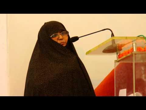 [ 2017 انقلابِ نورکلاسز ۔ تقریب تقسیم اسناد ] - Speech: Fatima Sabzwari - Urdu