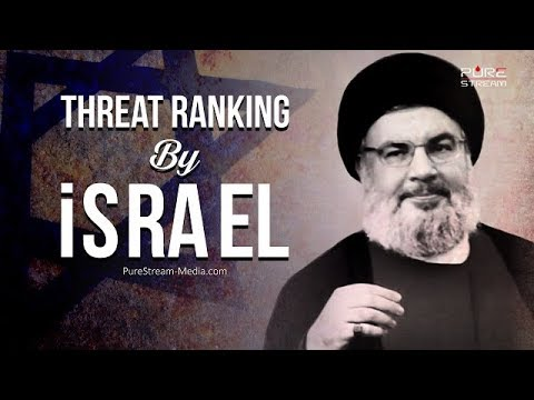 Threat Ranking By israel | Sayyid Hasan Nasrallah | Arabic sub English
