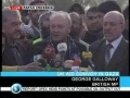 George Galloway first speech from inside Gaza - 09Mar2009 - English Arabic