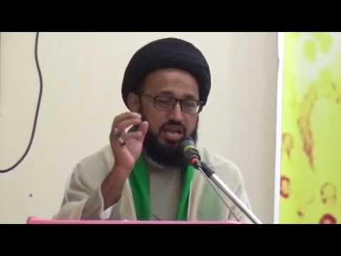 [Jashan-e-Millad] Speech: H.I Sadiq Raza Taqvi - Urdu