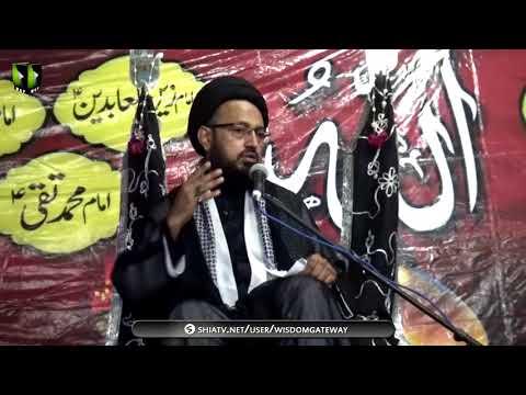 [07] Topic: Aakhir-uz-Zamaan k Mutaliq Imam Ali Ke Peshan Goiyaan | H.I Sadiq Taqvi - Muharram 1439/2017 - Urdu