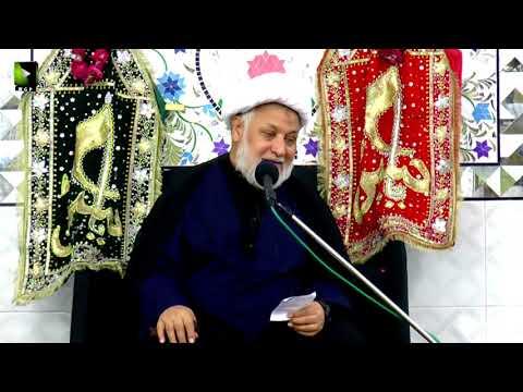 [07] Topic: Quran Or Imam Hussain (as) | H.I Ghulam Abbas Raesi - Muharram 1439/2017 - Urdu