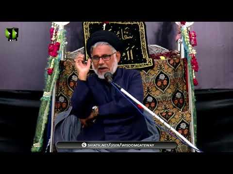 [01] Topic: Muhafizeen-e-Maktab - محافظینِ مکتب | H.I Hasan Zafar Naqvi - Muharram 1439/2017 - Urdu