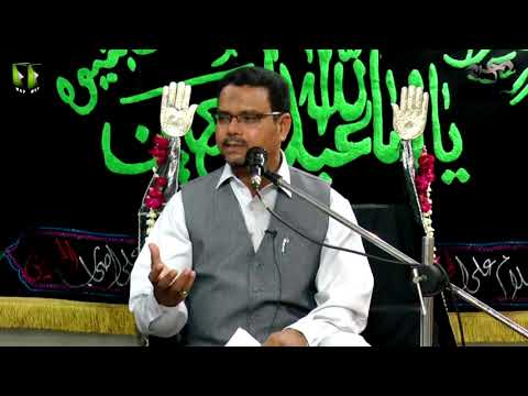 [08] Topic: Momin Ke Baseerat Or Maarfat | Professor Zahid Ali Zahidi - Muharram 1439/2017 - Urdu