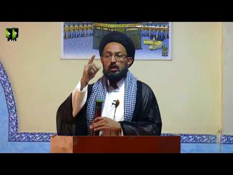 [ Friday Sermon ] 06 October 2017   H.I Sadiq Raza Taqvi   Masjid Khoja Asna Ashari Karachi - Urdu