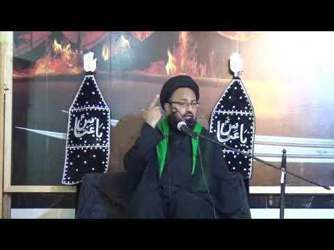 [09] Topic: Surah Al-Asr Or Tahreek-e-Imam Hussain (as) | H.I Sadiq Taqvi - Muharram 1439/2017 - Urdu