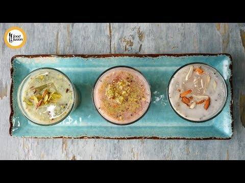 Sharbat 3-ways Recipe By Food Fusion - All Languages