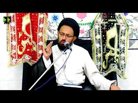 [03] Topic: خونِ امام حسینؑ کے انتقام کی تیاری | H.I Sadiq Raza Taqvi - Muharram 1439/2017 -