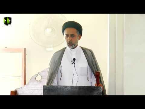 [ Friday Sermon ] 13 October 2017   H.I Muhammad Haider Naqvi - Masjid Yasrab Karachi - Urdu