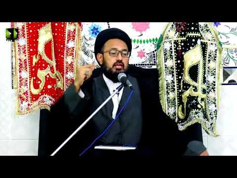 [04] Topic: خونِ امام حسینؑ کے انتقام کی تیاری | H.I Sadiq Raza Taqvi - Muharram 1439/2017 -