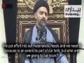 [Clip] Where is Imam Hussain (as) pointing us towards? | Moulana Nusrat Bukhari - Urdu Sub English