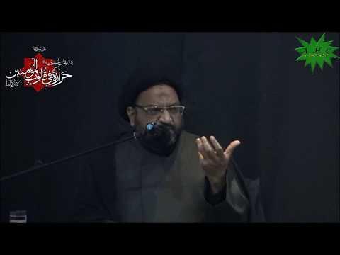 [06] Karbala Mareka-e-Haq Aur Batil   Eve 6th Muharram 1439   Moulana Syed Taqi Raza Abedi6th