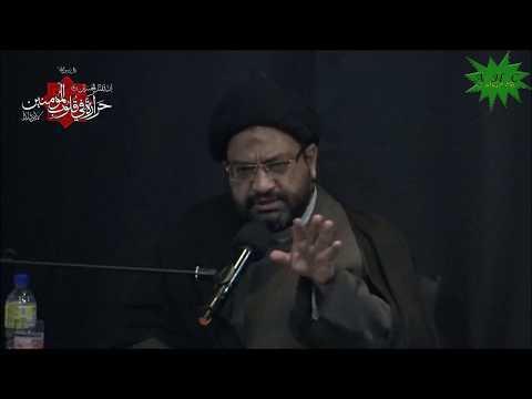 [07] Karbala Mareka-e-Haq Aur Batil   Eve 7th Muharram 1439   Moulana Syed Taqi Raza Abedi