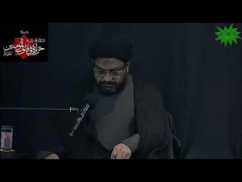 [08] Karbala Mareka-e-Haq Aur Batil   Eve 8th Muharram 1439   Moulana Syed Taqi Raza Abedi