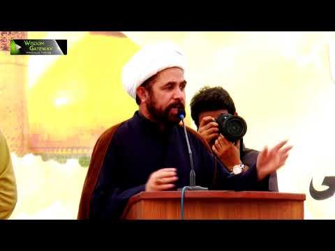 [Youm-e-Hussain as] Speech: Moulana Ghulam Abbas Waziri   Jamia Karachi KU   Muharram 1439/2017 - Urdu