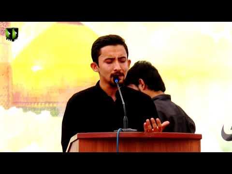 [Youm-e-Hussain as] Br. Ahmed Nasri   Jamia Karachi KU   Muharram 1439/2017 - Urdu