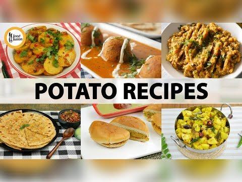 Quick Recpes - 6 Potato (Aloo) Recipes - English Urdu