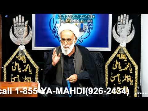 [10 Majlis] Topic: Insaan Human| Maulana Haider Ali Jawadi| Toronto Safar 1439 2017 - Urdu