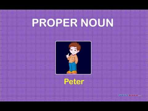 [ Educational Videos] Proper Noun Class -II - English