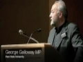 George Galloway MP at Penn State - March 2009 - English