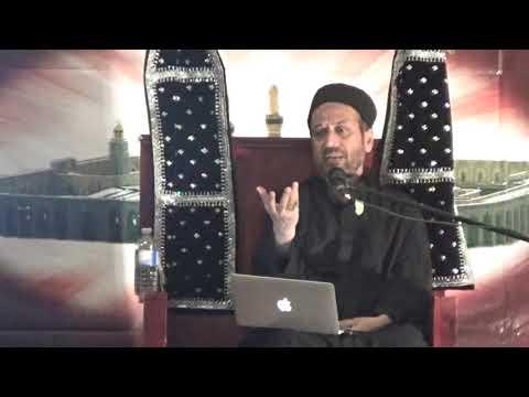 Maulana Jan Ali Shah Kazmi - 3rd of Muharram, 2017 Majlis at Bab ul Ilm, Mississauga - Urdu
