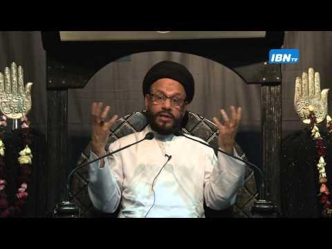05 Majlis Ashra e Zainabiya Safar 1436 Hijari 2014 By Allama Syed Mohammad Zaki Baqri - Urdu
