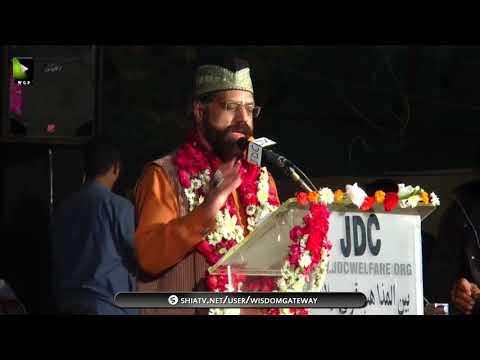 Janab Alamdar Hussain | Qoumi Milad-e-Mustafa saww Conference - 1439/2017 - Urdu