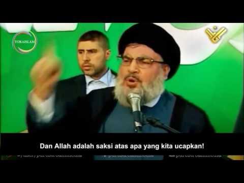 [Clip] Kami Siap Melayanimu, Ya Rasulullah | Sayyid Hasan Nasrullah - Arabic sub Malay