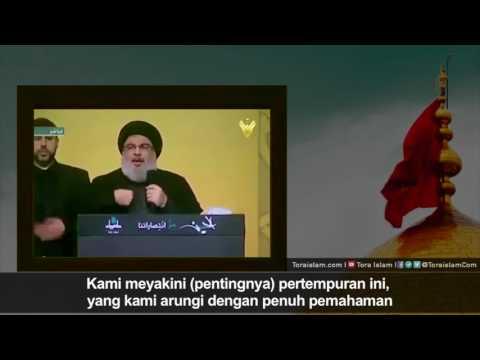 [Clip] Kita Takkan Mundur | Sayyid Hasan Nasrullah - Arabic sub Malay