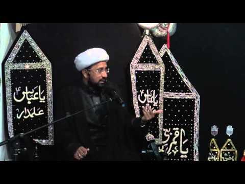 Majlis 5th Moharram 1437/2015 Shahadat Hazrat Aun and Muhammad (A.S) By Molana Mohammad Irfan - Urdu