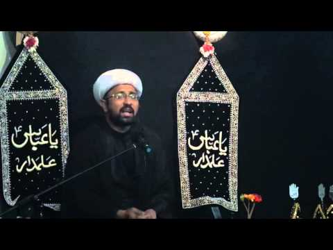 Majlis 8th Moharram 1437/2015 Shahadat Hazrat Abbas Alamdar A.S Ibne Ali A.S By Molana Mohammad Irfan - Urdu