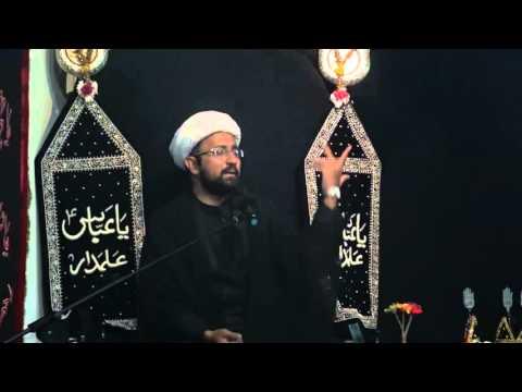 Majlis 9th Moharram 1437/2015 Shahadat Hazrat Ali Akbar A.S Ibne Hussain A.S By Molana Mohammad Irfan - Urdu