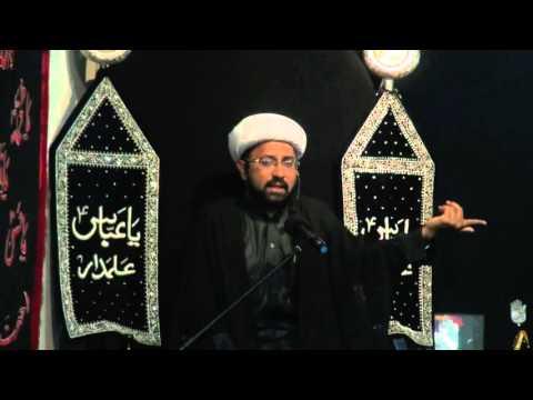 Majlis Shabe 10th Moharram 1437/2015 Shab-E-Ashur - Imam Hussain (A.S) By Molana Mohammad Irfan - Urdu