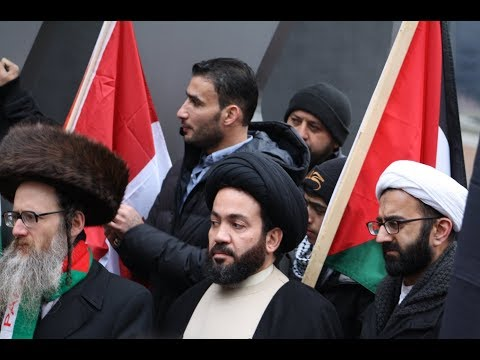 Sayed Alaaeddin abou AlHassan Speaking at Toronto Hands Off Jerusalem Al-Quds Rally -Dec.09 2017- English
