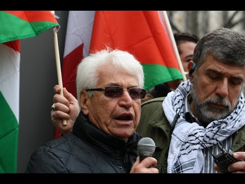 Atif Kubrisi Palestine House Speaking at Toronto Hands Off Jerusalem Al-Quds Rally Dec.09 2017 - English