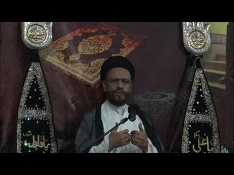 5th Lecture 18 Ramzan-ul-Mubarak 1437/2015 Topic: Amaniyat(Peace) By H.I Moulana Syed Mohammad Zaki Baqri - Urdu
