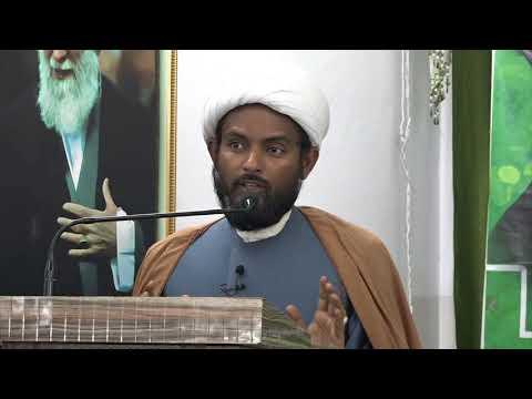 [Day 04] HAFTA-E-WAHDAT 1439 A.H - Moulana Ali Abbas Khan - Urdu