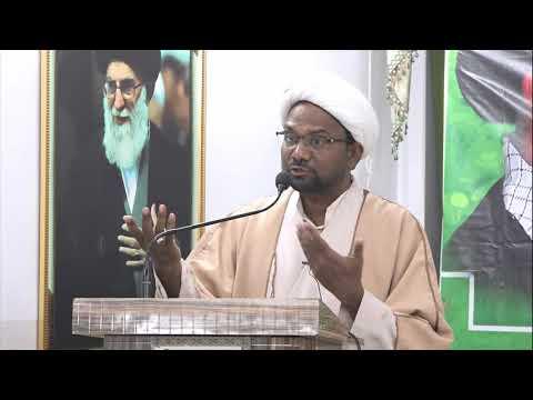 [Day 05] HAFTA-E-WAHDAT 1439 A.H - Moulana Mohammed Abbas Masood - Urdu