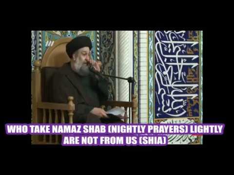 NIGHT PRAYERS-SALAYT LAYL - Farsi sub English