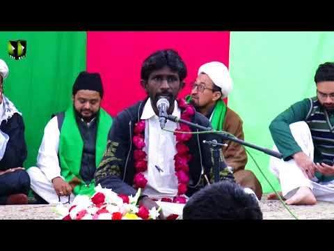 [ Jashan-e-Masoomeen (A.S) ] Manqabat : Br. Zahid Raza | 30-December-2017 - Urdu