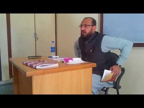 [ؒLecture] Topic: What is Counseling   H.I Sadiq Raza Taqvi - Urdu