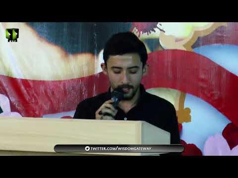[ Seminar Fikr-e-Shaheed Dr. Muhammad Ali Naqvi ] Tarana: Br. Ahmed Nasri | 7th March 2018 - Urdu