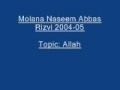 Molana Naseem Abbas Rizvi Allah 2004 05