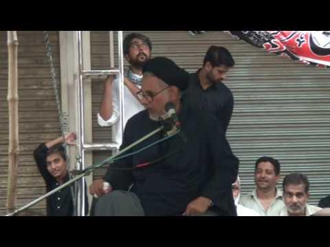 Majlis 21st Ramzan 1438 Hijari 2017 By Allama Syad Hassan Zafar Naqvi at Nasira Abbad Multan Part-2 - Urdu