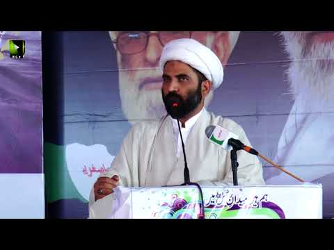 [Wilayat-e-Haq Convention 2018] یوم یعسوب الدین | Speech: Moulana Maqsood Domki | Asgharia Org. Pak - Urdu