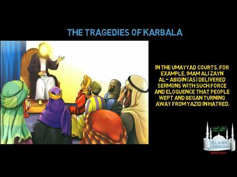 THE HOLY IMAM SERIES - Imam Zayn al Abidin (as)- The 4th Imam - English