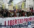 [8 April 2018] Spain_ Pro-Catalan protesters rally for political prisoners - English