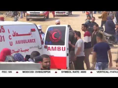 [27APR2018] پرامن واپسی مارچ پر اسرائیل کی فائرنگ، 3 فلسطینی شہید  - Urdu