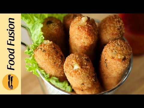 [Quick Recipes] Chicken Mozzarella Sticks - English Urdu
